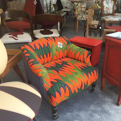 La Petite Ourse, boutique éphémère, Gap Foire Expo, création, pièce unique, fauteuil, upcycling