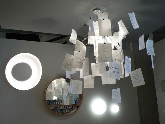 Art et Lumière by MBD, boutique, suspension Ingo Maurer, Gap, Hautes Alpes