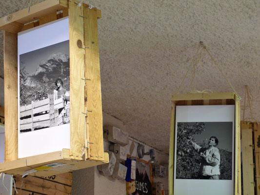 Le Petit Gallou, épicerie, traiteur, La Joue du Loup, intérieur, expo photos, Le Dévoluy