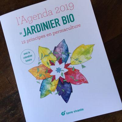 Agenda, Jardinier bio, Terre Vivante