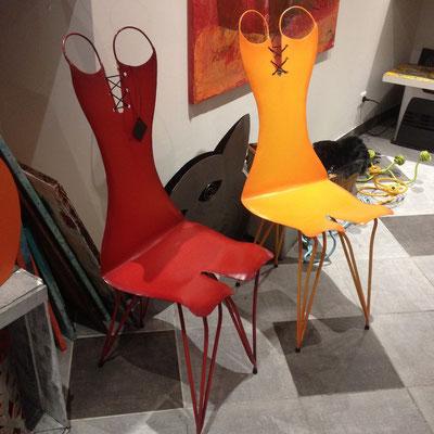 Gargouill'Art, galerie, objets, déco, chaises, Briançon