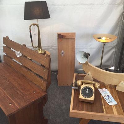 La Petite Ourse, boutique éphémère, Gap Foire Expo, création, pièce unique, mobilier, upcycling