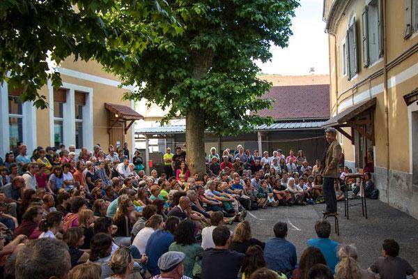 Joblard, Jean-Marc Royon, Festival Tous Dehors (Enfin)!, arts de la rue, Gap, Hautes Alpes