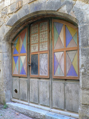 Orpierre, vieil Orpierre, village médiéval, porte