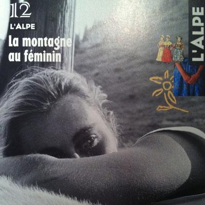 Couverture, Magazine, L'Alpe, N°12, La Montagne au Féminin