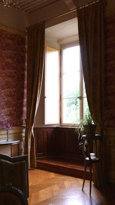 Château de Picomtal, Hautes Alpes, intérieur, Suite Louis XVI, décoration