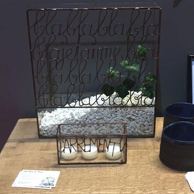 Gap Foire Expo, Espace Déco, AUP Déco, Gaz'Elle Création, L'En Verre du Décor, Marion Krannich, objets de décoration en verre