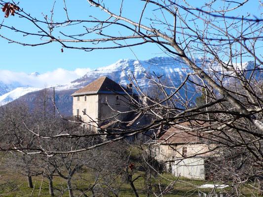 Vue, Maison, Hauts de Sainte-Marguerite, Hautes Alpes, Gap
