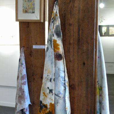 Chiffons d'atelier, exposition Martin Galtier, Maison du Berger