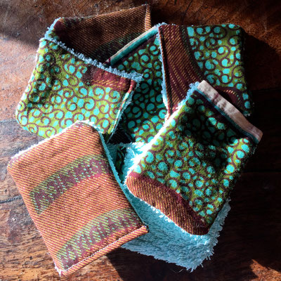 Lingettes coton, zéro déchet, diy, fait maison, développement durable