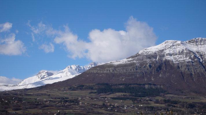 Vue, Hauts de Sainte-Marguerite, Hautes Alpes, Gap, Bure