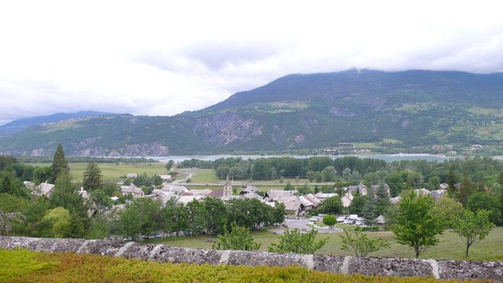 Château de Picomtal, Hautes Alpes, vue, Serre-Ponçon