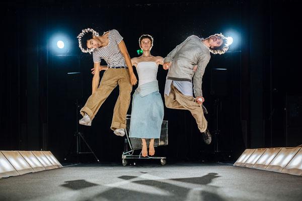 Dystonie, spectacle, jonglage, spectacle vivant, théâtre La passerelle, Cie de Fracto,