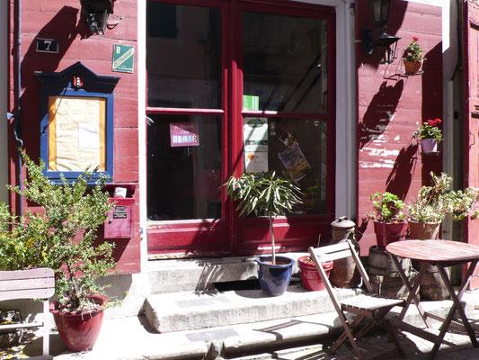 Tallard, Vue, terrasse restaurant, Hautes Alpes