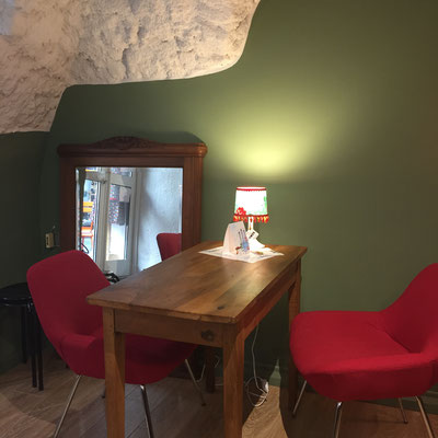 Thé pas chez Mémé, salon de thé, boutique, intérieur, Gap, Hautes Alpes