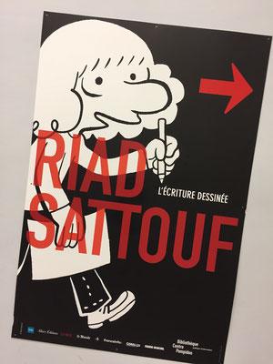 Riad Sattouf, exposition, bande dessinée, l'écriture dessinée, BPI, Centre Pompidou, Paris