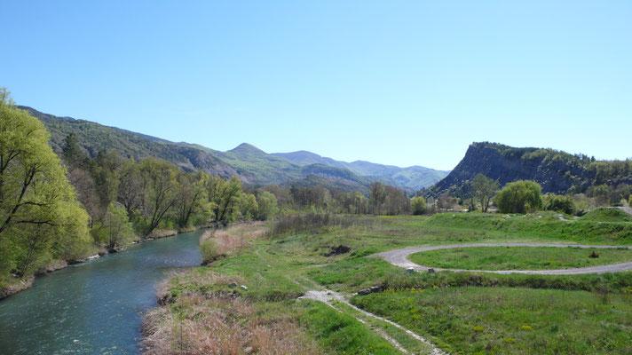 Tallard, Vue, Lanscape, La Durance, Hautes Alpes