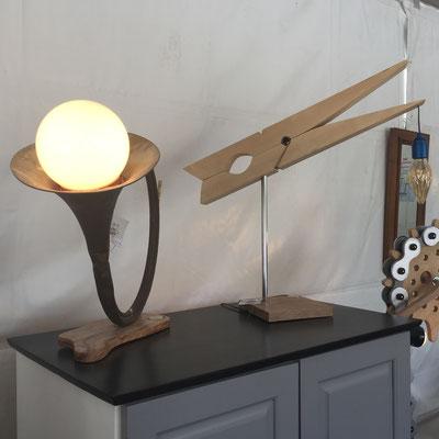 La Petite Ourse, boutique éphémère, Gap Foire Expo, création, pièce unique, lampe, upcycling