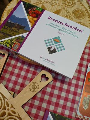 Le Petit Gallou, épicerie, traiteur, livre, recettes fermières, La Joue du Loup, Le Dévoluy