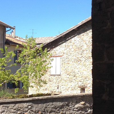 Tallard, Vue, rue, street, Hautes Alpes