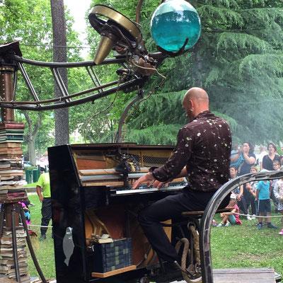Le Manège du Contrevent, Cie Grandet Douglas, Festival Tous Dehors (Enfin)!, arts de la rue, Gap, Hautes Alpes