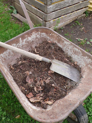 Potager, compost, herbe, Gap, Hautes Alpes
