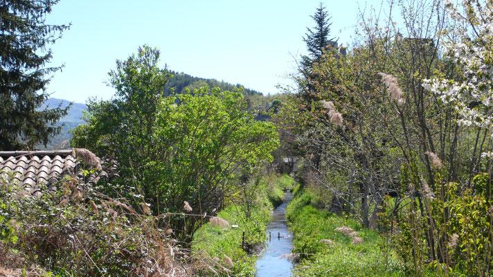Tallard, Vue, Lanscape, ruisseau, Hautes Alpes