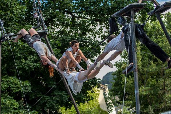 Miss Dolly, Marcel et ses drôle de femmes, Festival Tous Dehors (Enfin)!, arts de la rue, Gap, Hautes Alpes