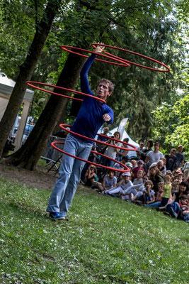Monsieur O, Sylvain Julien, Festival Tous Dehors (Enfin)!, arts de la rue, Gap, Hautes Alpes