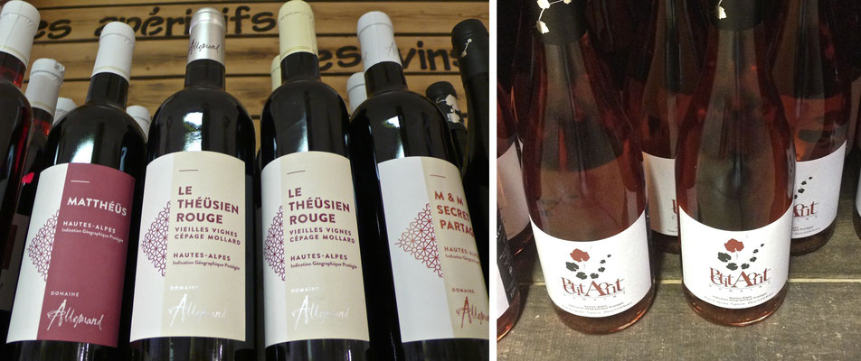 Le Petit Gallou, épicerie, traiteur, vins, Domaine Allemand, Domaine du Petit Août,