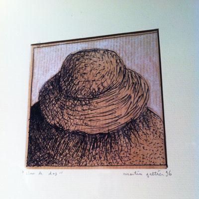 Tableau, Vue de Dos, Berger, Martin Galtier, Exposition