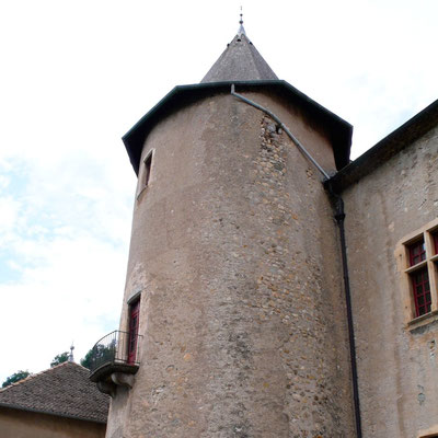 Château Montmaur, tour, Hautes Alpes