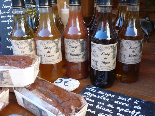 Délices d'Ardèche, Julien de la Rocca, sirops artisanaux, Marché de Noël de Gap