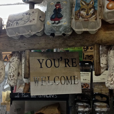 Le Petit Gallou, épicerie, traiteur, La Joue du Loup, enseigne, welcome, Le Dévoluy