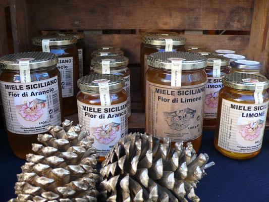 Douce Sicile, miel de Sicile, Marché de Noël de Gap