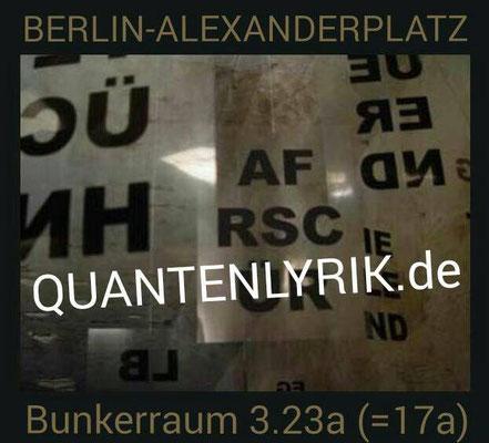 """Permanente Rauminstallation seit 2003 im Bunker unter dem Alexanderplatz (Berlin): """"PARA-DIES-UND-DAS"""" (c) FOTO: Britta Henrici"""