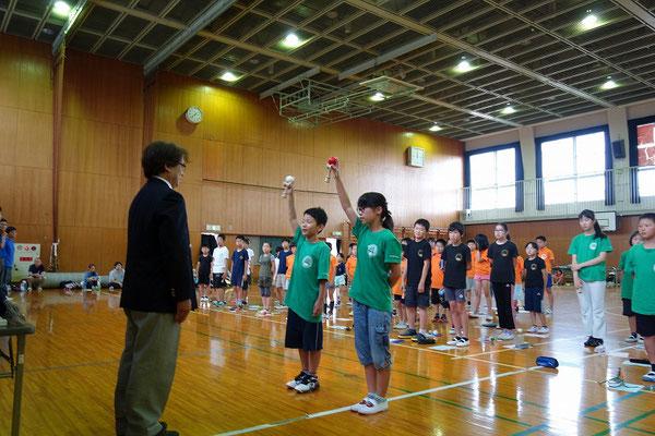 選手宣誓 北大阪支部