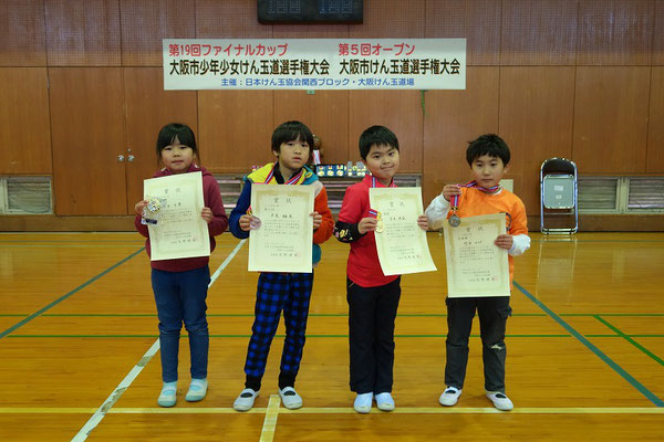 1・2年生の部 表彰