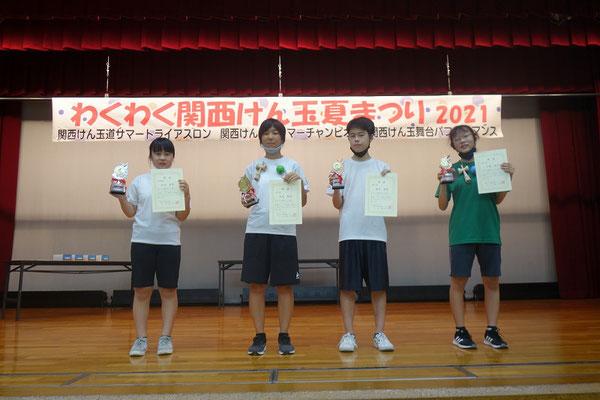関西けん玉道サマーチャンピオン 表彰者