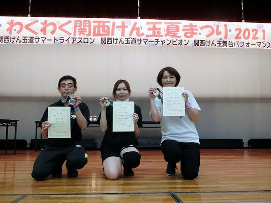 三・四段クラス 表彰