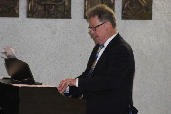 Rolf Rauber unser Dirigent