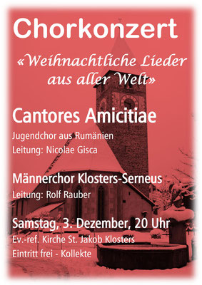 Cantores Amicitiae Klosters 2016
