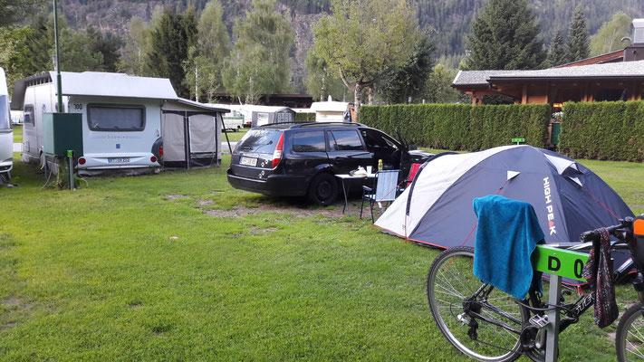 Campingplatz in Lengenfeld