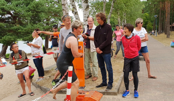 Schlaubetal-Triathlon in Müllrose