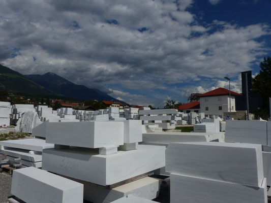 Marmorwerk in Laas im Vinschgau Südtirol