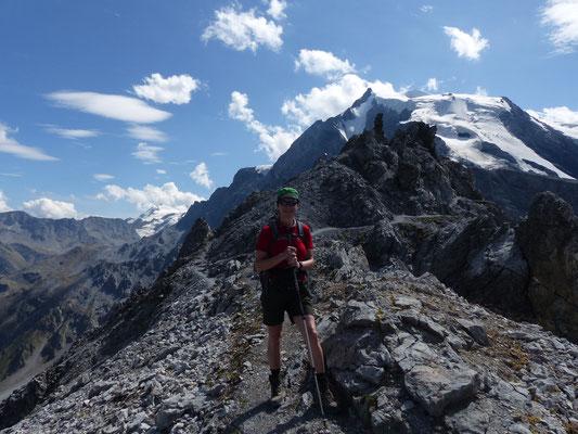 auf der Bärenkopfscharte (2871 m)