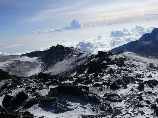 Kraterrand des Kilimanscharo
