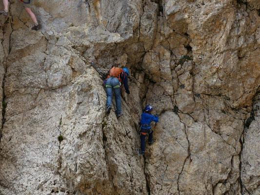 Klettersteig zur Rotwand