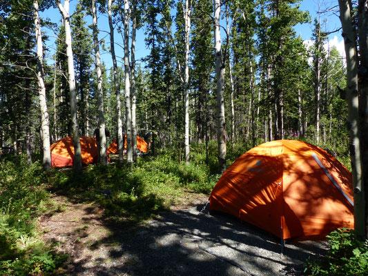 Campingplatz im Kluane Nationalpark