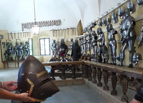Rüstsaal der Churburg